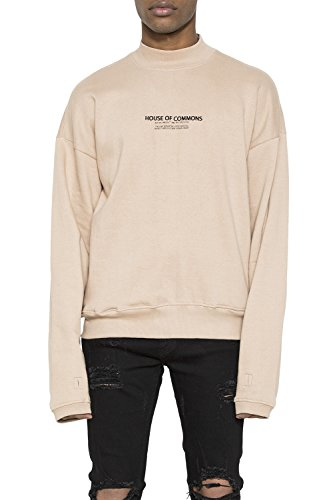 House of Commons Men's Mock Neck French Terry (French Terry Mock Neck)