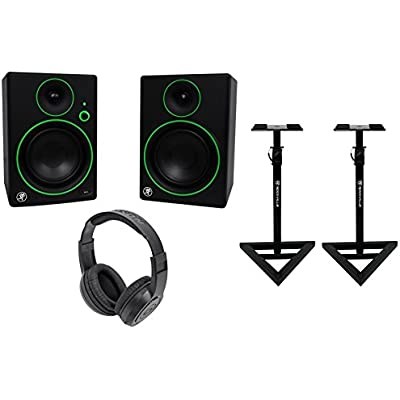 2-mackie-cr5bt-5-studio-monitors