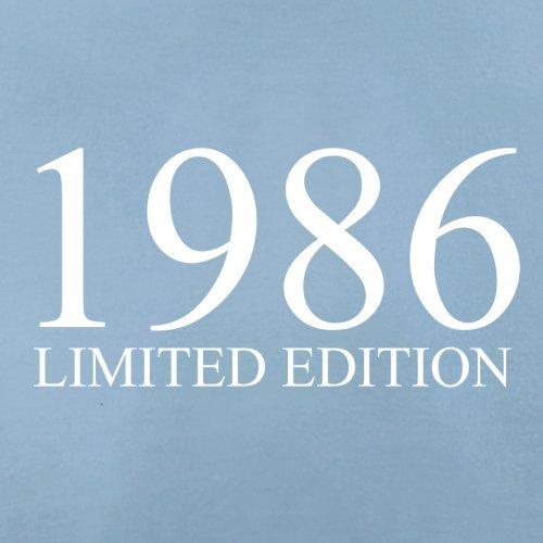 1986 Limierte Auflage / Limited Edition - 31. Geburtstag - Herren T-Shirt - Himmelblau - XL
