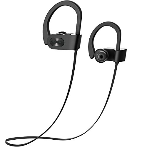 Mpow Flame [Updated] Bluetooth Headphones, Bassup Technology HiFi Stereo in-Ear Wireless Earbuds, Waterproof IPX7 Earphones w/Mic, Case, 7-9 Hrs Playing Time, CVC6.0 Noise Cancelling Headsets