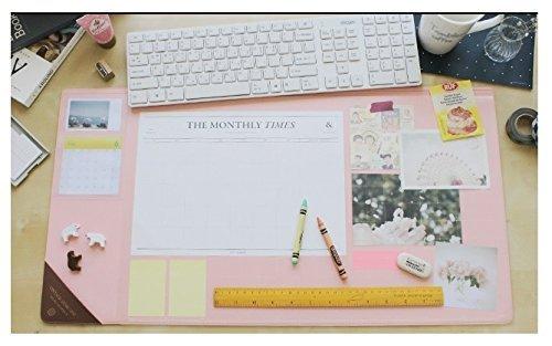 Vintage Designed Desk Mat Ver. 02 - Pink by seeso