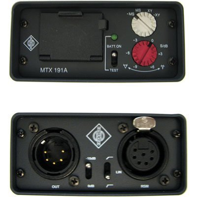 Neumann MTX-191A Stereo Matrix and Preamplifier for RSM191 MS and AK Series Microphones