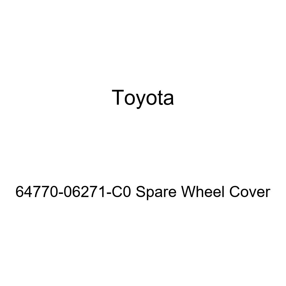Toyota Genuine 64770-06271-C0 Spare Wheel Cover