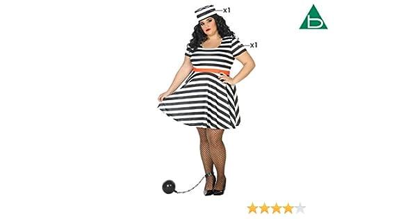 Atosa-39553 Disfraz Presa, Color Negro, XL (39553): Amazon.es ...
