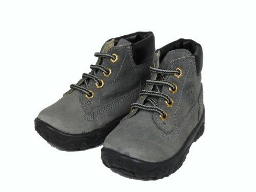 Naturino 434 - Zapatos primeros pasos de cuero para niño gris - gris