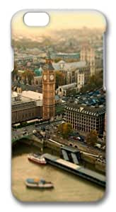 iPhone 5C Case, iPhone 5C Cases -London UK Bokeh PC Hard Plastic Case for iPhone 5C 3D