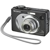 Sony Cybershot DSCW1 5MP Digital Camera with 3x Optical Zoom (Black) Benefits Review Image