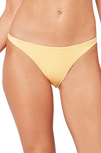 - LSpace Women's Summer Love Plaid Hipster Bikini Bottom Sunshine Gold XS