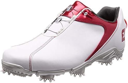 ゴルフシューズ FJ SPORT Boa メンズ ホワイト/レッド(18) 25 cm 3E 53143J 25.0 cm