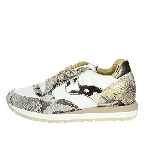 beige npl001 Bianco Sneakers Bassa Pack49 Donna Pregunta wFvqZP
