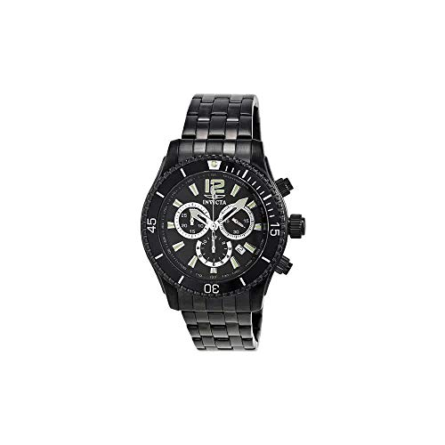 Invicta Men's 0624 Invicta II Chronograph Black Ion-Plated Stainless Steel Watch ()