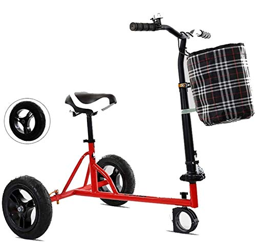 SCYMYBH Hoverkart Seat Foldable Go Kart for Electric Scooter Adjustable, Easy to Carry for Smart Electric Self Balancing…