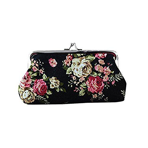 TOMATO-smile - Bolso mochila  de poliuretano para mujer beige Diseño 4 Rose schwarz