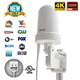Best Attic Tv Antennas - ANTOP Outdoor/Attic TV Antenna Omni-Directional Complete 360° Reception,Exclusive Review