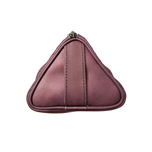 Soft Leather Travel Dopp Kit for Toiletries Handmade by Hide & Drink :: Lavender