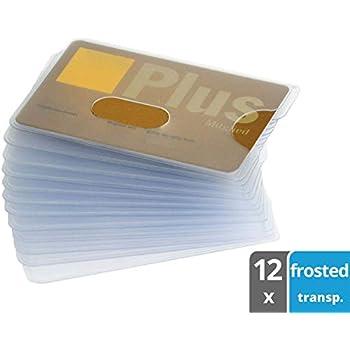 Amazon.com : valonic RFID Blocking Credit Card Sleeves, 6 ...