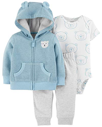 Carter's Baby Boys` 3-Piece Little Jacket Set