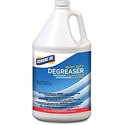 Genuine Joe GJO10353CT Heavy-Duty Degreaser Concentrate Liquid Solution (Pack of 4)