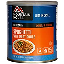 Mountain House - Spaghetti with Meat Sauce - Freeze Dried Food