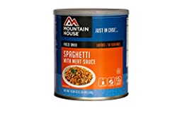 Enjoy this classic dish wherever you are with our mouth-watering and tender Spaghetti with Meat Sauce, made with real beef in a rich marinara sauce. Each compact lightweight container provides quick prep meals that have a 30 year taste...