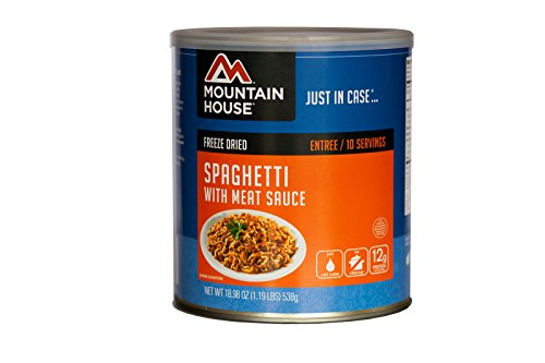 Mountain House - Spaghetti with Meat Sauce (#10 Can) - Freeze Dried Food