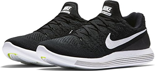 online store 7e5cf d7c9f Galleon - Nike Men s LunarEpic Low Flyknit 2 Running Shoe Black White- Anthracite 14.0