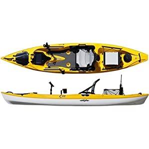 Eddyline C-135 Stratofisher YakAttack Kayak Review