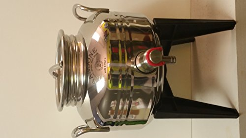 Bargain 2 Liter Stainless Steel Fusti with Stand and Spigot & 1 Liter Oil Decanter opportunity