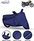 Fabtec Bike/Motorcycle Body Cover for Honda Shine SP (Blue)