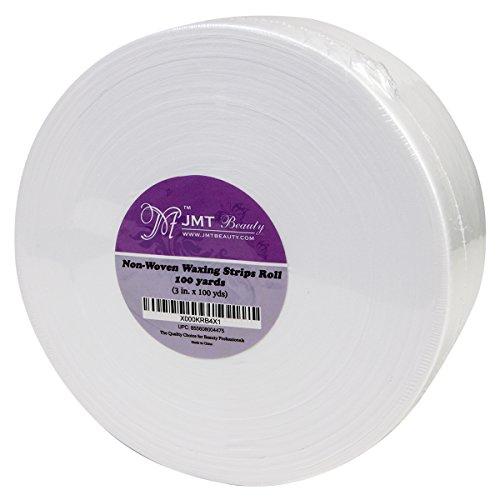 - JMT Beauty Non-woven Waxing Strips Roll, 3in. X 100yds