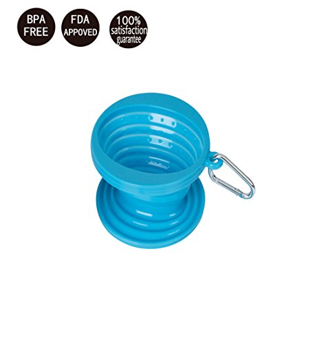 Green JYPC Collapsible Coffee Silicone Dripper for Camping Filter Cone