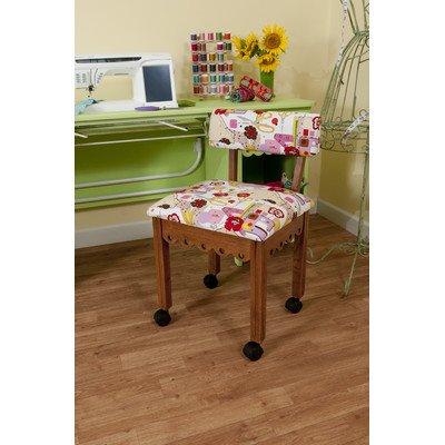 Arrow Oak Sewing Chair (Arrow Oak Chair)