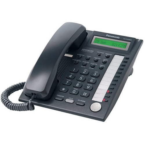 UPC 037988850730, Panasonic KX-TA30830B 12-BUTTON Speakerphone Telephone with Backlit Single Line LCD Display