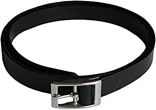 product image for American Bench Craft Slim Leather Dress Belt