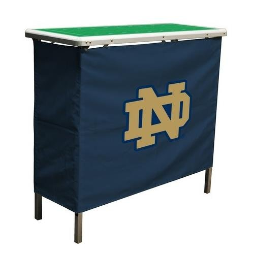 Amazon.com : NCAA College Notre Dame Fighting Irish Aluminum High Top Folding  Tailgate Table With Carrying Case : Bar Cabinets : Sports U0026 Outdoors