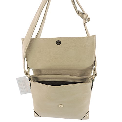 Crossbody Apricot Silver Fashion Purse Tote Small Tassle Designed Style Indie Fever Handbag Hipster gqEqwP6