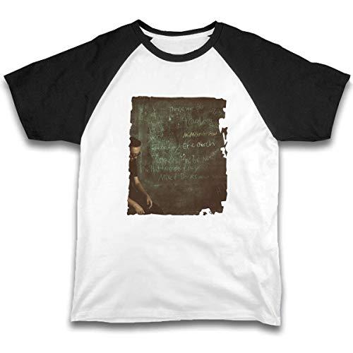 Kid T Shirt Eric Church Mr. Misunderstood 3D Tee Baseball Short Sleeve Cotton Shirts Top for Boys Girls Kids Black