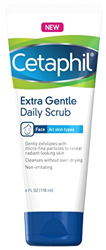 Extra Gentle Daily Scrub (Pack of 2) - Gently Exfoliates & Cleanses Without Over-drying - For All Skin Types - Non-Irritating & Hypoallergenic - Suitable For Sensitive Skin 6 ()