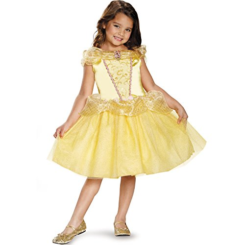 Belle Classic Disney Princess Beauty & The Beast Costume, One Color, (Fantasy Film Costumes)