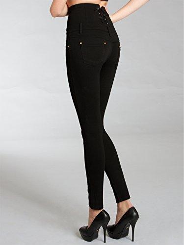 143406fb423c CASPAR HLE017 High Waist Damen Super Stretch Hose   Leggings  Amazon.de   Bekleidung