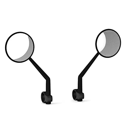 Amazon.com: Cheng-store Scooter Side Mirror, 2 Pcs Handlebar ...