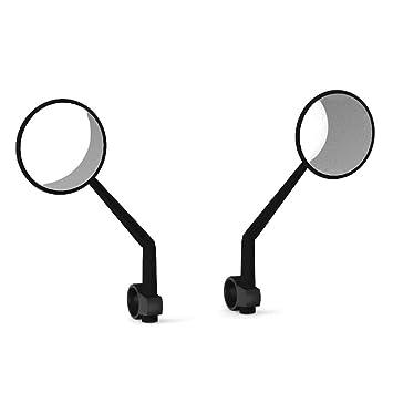 iBaste_top 1 Par Espejos retrovisores para Xiaomi Scooter Amplio Campo de Visión Convex Mirror Modification Accessories 360 ° Rotation: Amazon.es: Deportes ...