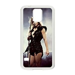WJHSSB Customized Print Britney Spears Hard Skin Case For Samsung Galaxy S5 I9600