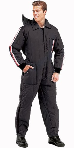 Black Snow Ski & Rescue Insulated Suit (Large) by Rothco