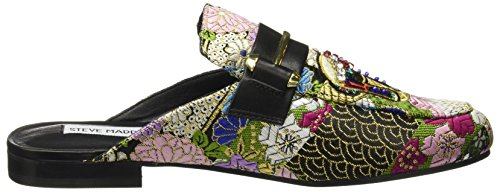 Multi Femme Steve Madden Patchwork Black Multicolore Mocassins Loafer 001 Kera wqICx4q0