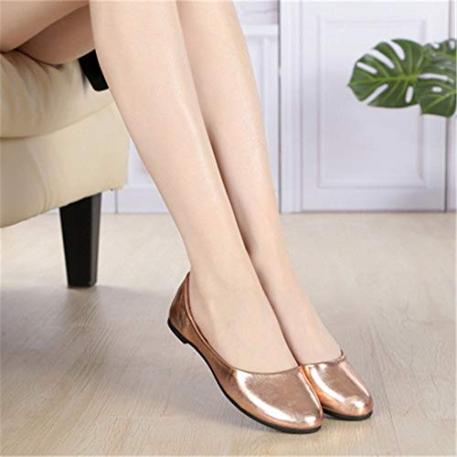 shoes FLYRCX flat shoes shallow B office women shoes single comfortable simple Ms mouth fashion shoes work pregnant 771SrUq