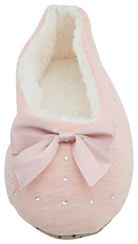Chaussons pour femme Rose SlumberzzZ Chaussons SlumberzzZ qHYOTq