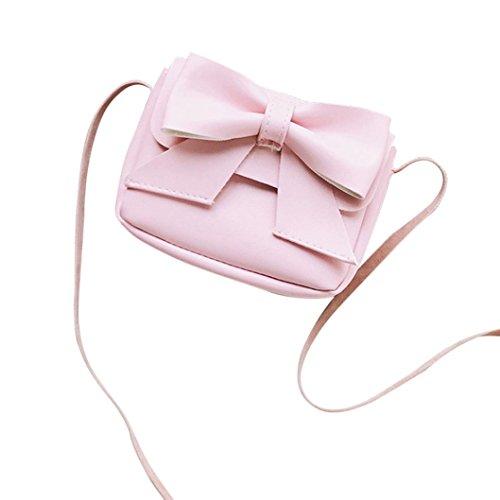 Bolsos Aleta ✦JiaMeng Niñas Señoras Bolso Moda de Bolsos Patchwork de Mujeres Crossbody Mano Casual Mujer Pequeño Hebilla de Rosado Hombro para PUnrP
