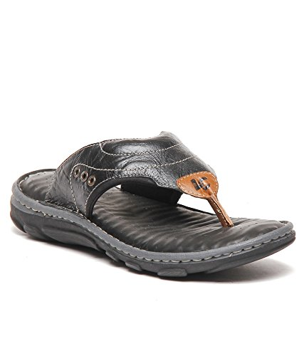 4128f6a1a24bb Lee Cooper Men s Leather Outdoor Sandals  Buy Online at Low Prices ...