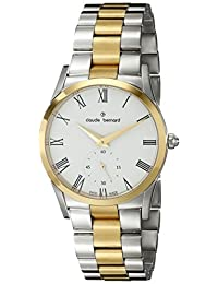 Claude Bernard Women's 23092 357J BR Classic Ladies Analog Display Swiss Quartz Two Tone Watch